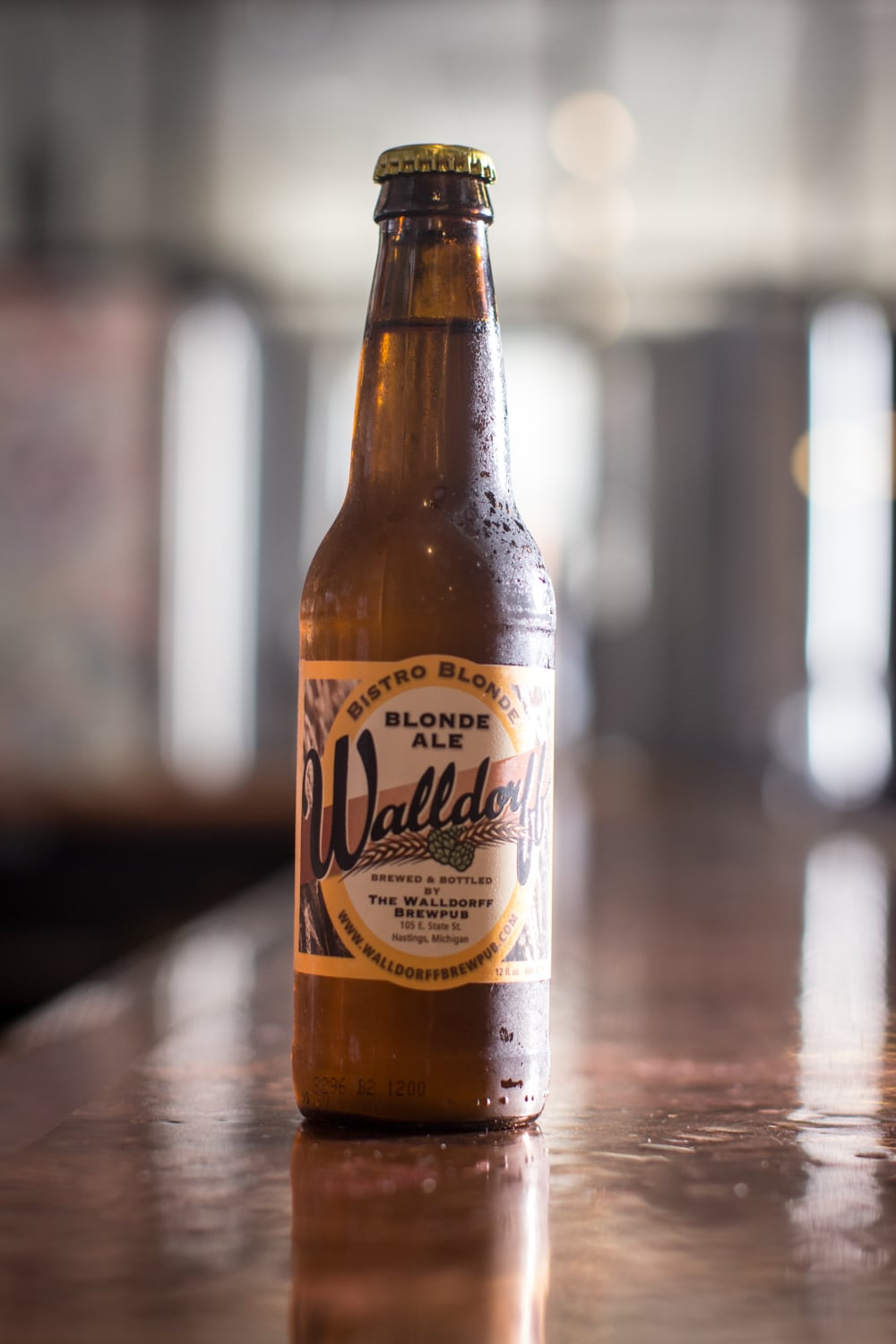 "Great entry level craft beer or crossover from domestic beers. Made with all malted barley and a bit of wheat with just enough Noble German hops to balance. Welcome to ""Real Beer""! IBU: 17 ABV: 4.2% 2008 World Expo Of Beer Silver Medal Winner."
